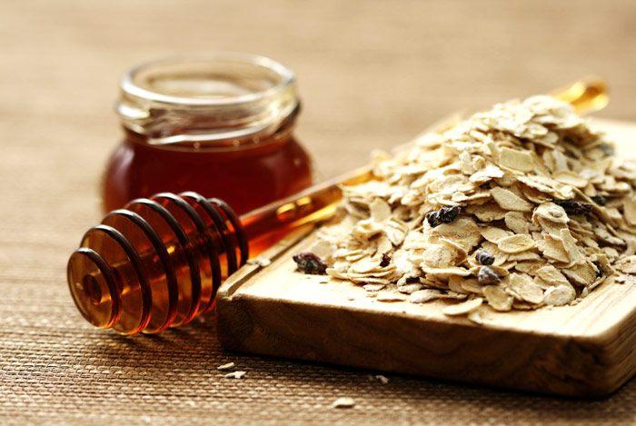 mặt nạ yến mạch mật ong