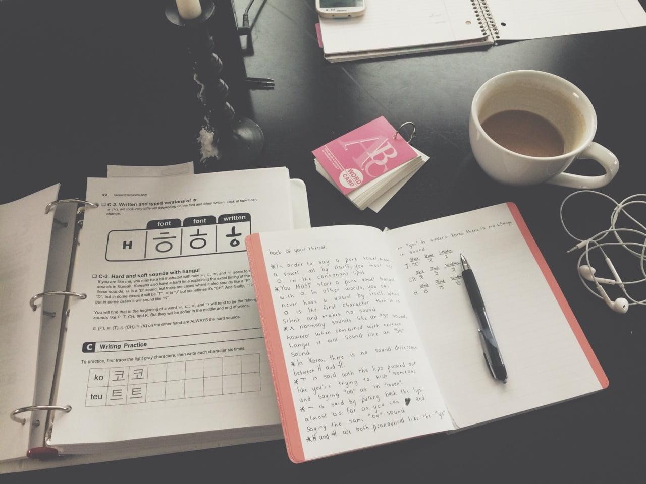 tự học tiếng Hàn với các khóa học tiếng Hàn online