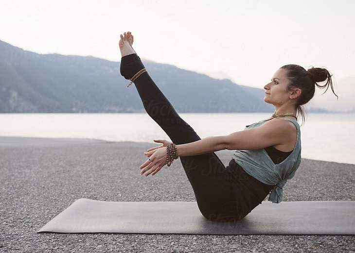 yoga chữa bệnh dạ dày