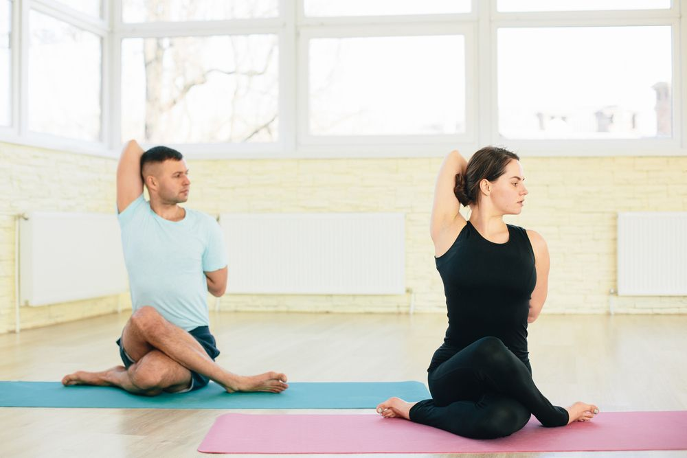 yoga dáng đẹp