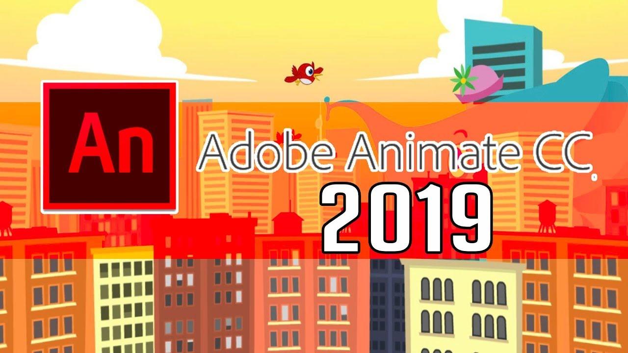 Adobe Animate phiên bản 2019
