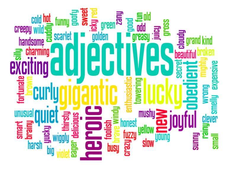 Tính từ trong tiếng Anh là gì ?