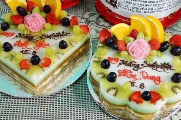 Tuyệt chiêu cách làm bánh sinh nhật rau câu mới lạ