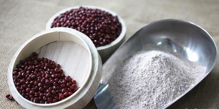 cách làm bột đậu đỏ tắm trắng