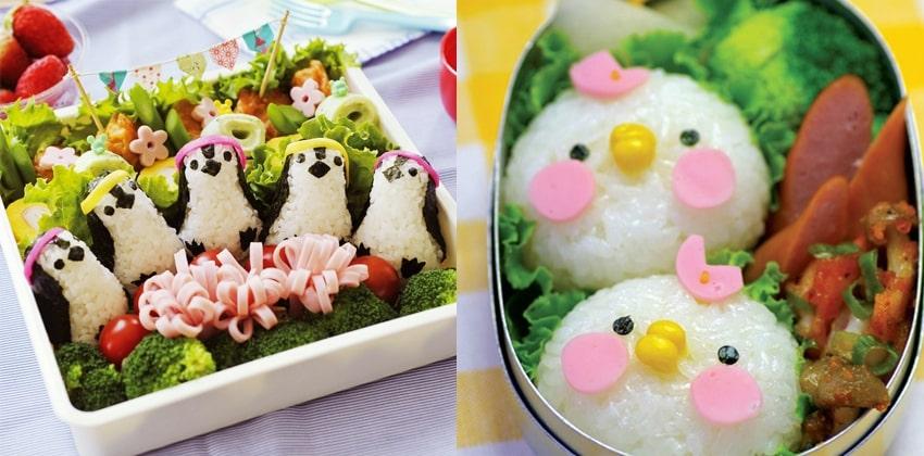 cách làm hộp cơm Bento cho bé đơn giản