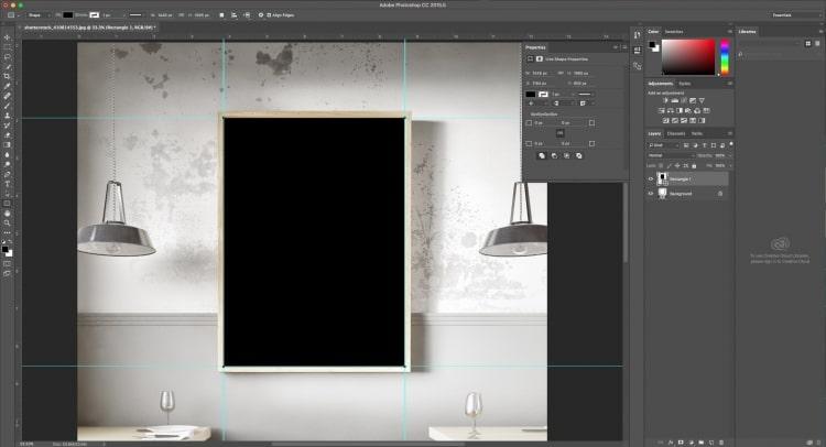 cách làm Mockup trong Photoshop
