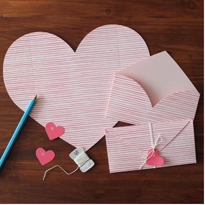 Hướng dẫn cách làm thiệp Valentine đơn giản nhất