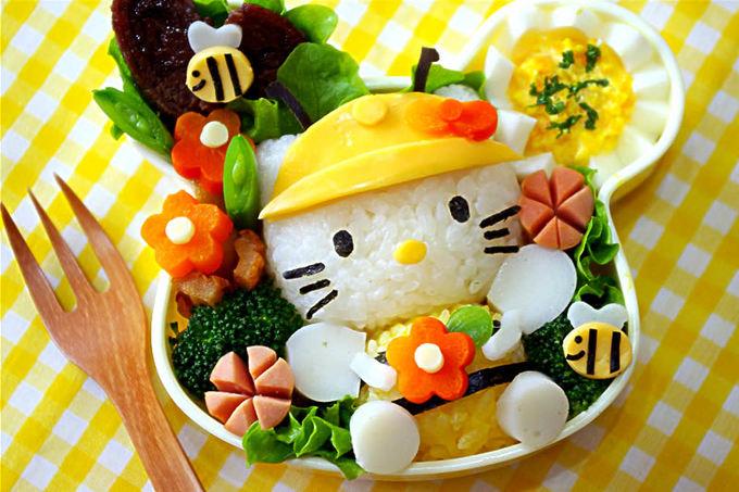 Cách nhuộm gạo để làm cơm Bento