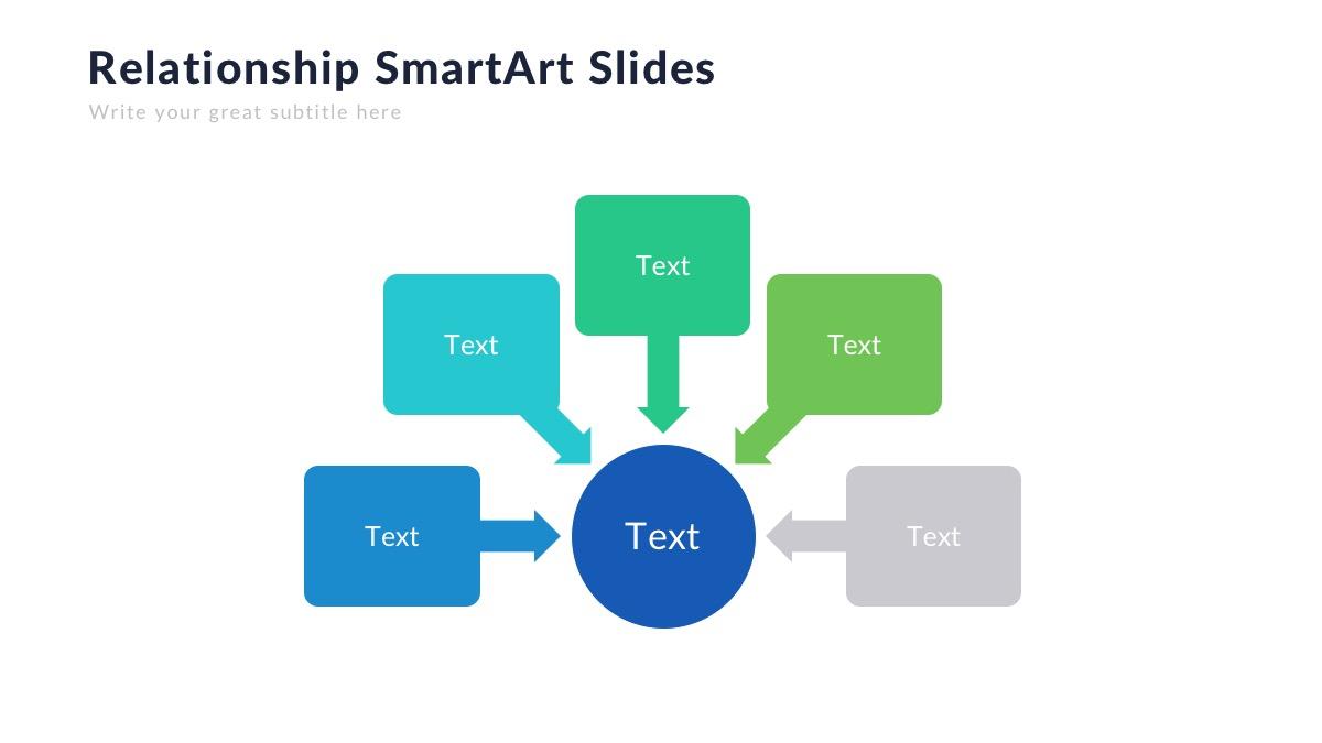 cách sử dụng SmartArt trong PowerPoint 2010 đơn giản