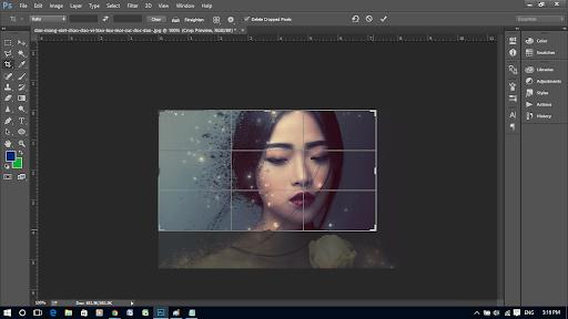 Hướng dẫn cắt ảnh theo ý muốn trong Photoshop