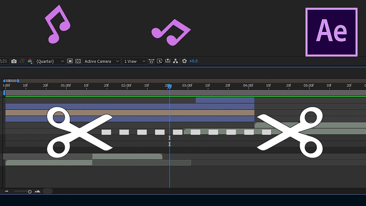 cắt video trong After Effect nhanh nhất
