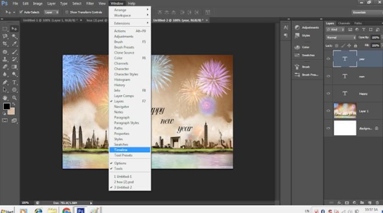 Cách chỉnh sửa ảnh gif bằng Photoshop đỉnh cao