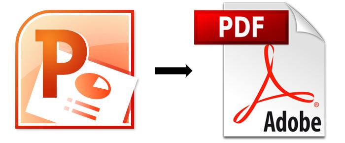 chuyển PowerPoint sang PDF nhanh nhất
