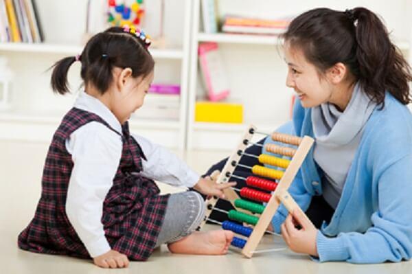 Dạy trẻ tự kỷ học toán