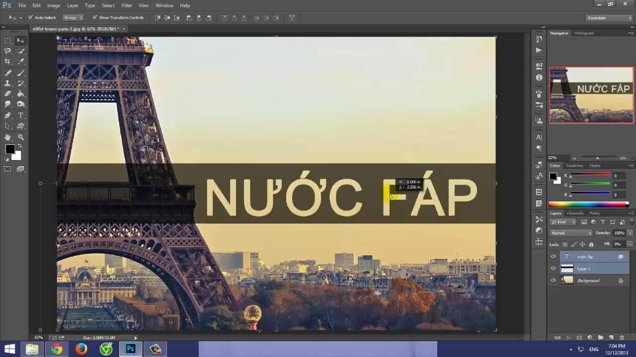 Bí quyết đổi màu chữ trong Photoshop một cách đơn giản nhất