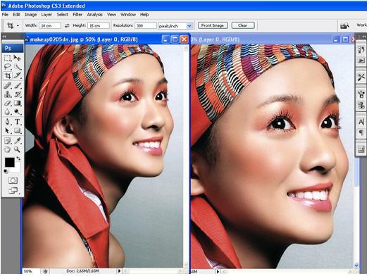 Cách phóng to thu nhỏ ảnh trong Photoshop mà không bị nhòe