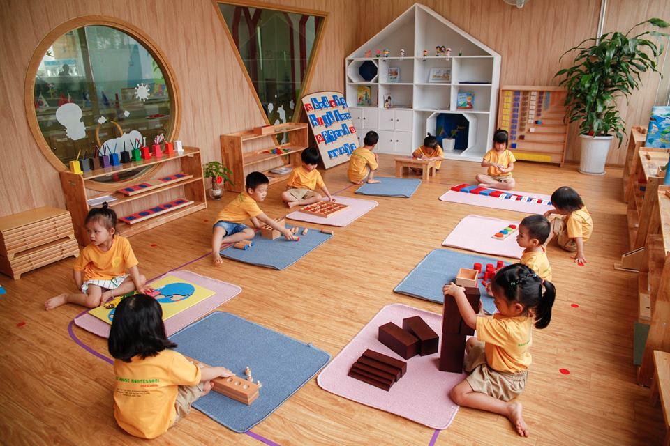 Nội dung phương pháp giáo dục Montessori
