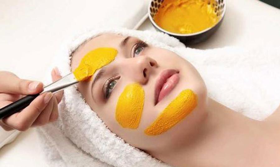 tác dụng của nghệ tươi với da mặt