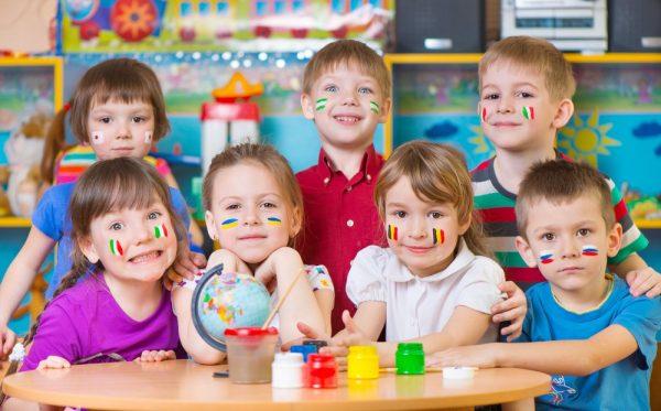 tiếng Anh cho trẻ em mẫu giáo