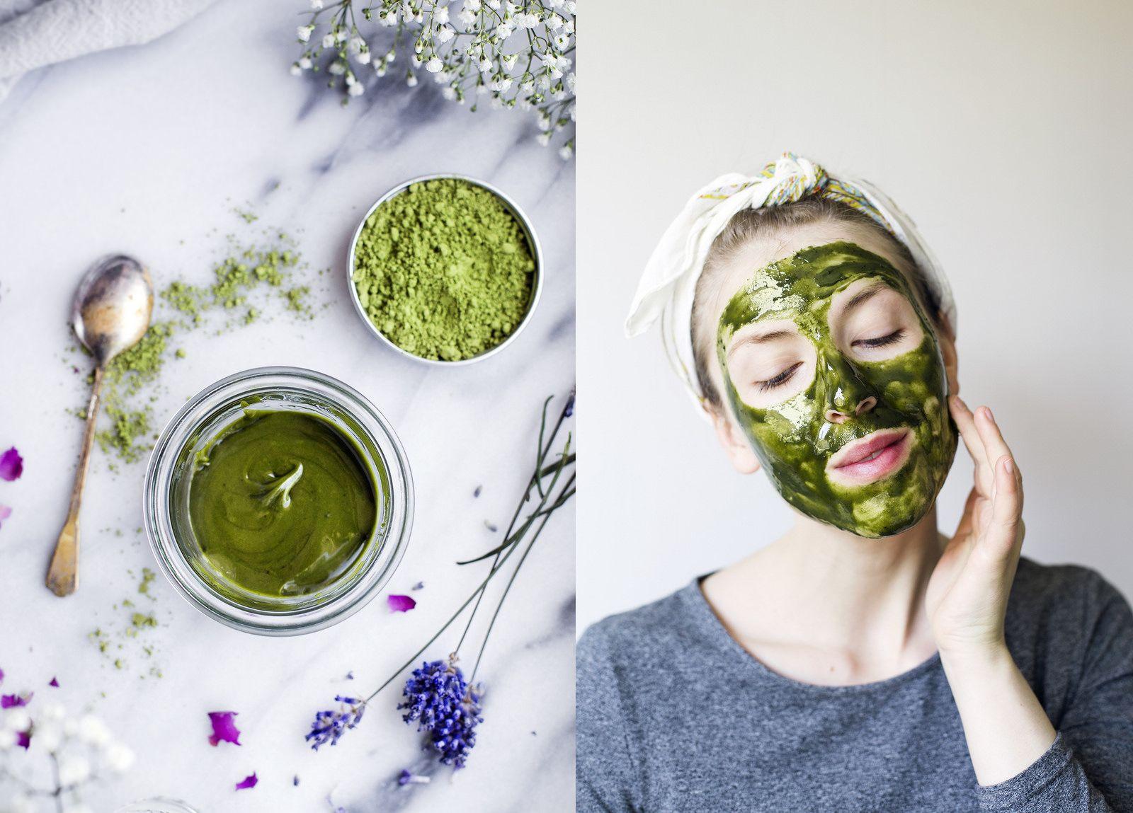 cách làm mặt nạ trà xanh sữa chua