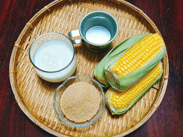 cách nấu sữa ngô cho bé