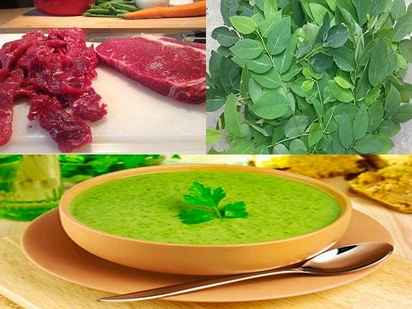 Cách nấu cháo thịt bò rau ngót thơm ngon, bổ dưỡng