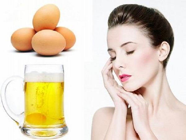 Uống bia với trứng gà có tác dụng gì