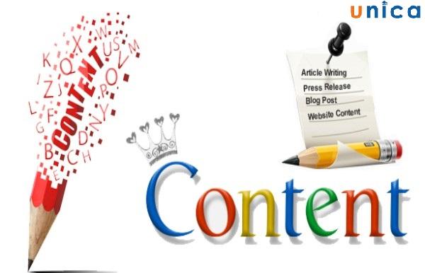 sử dụng content độc đáo