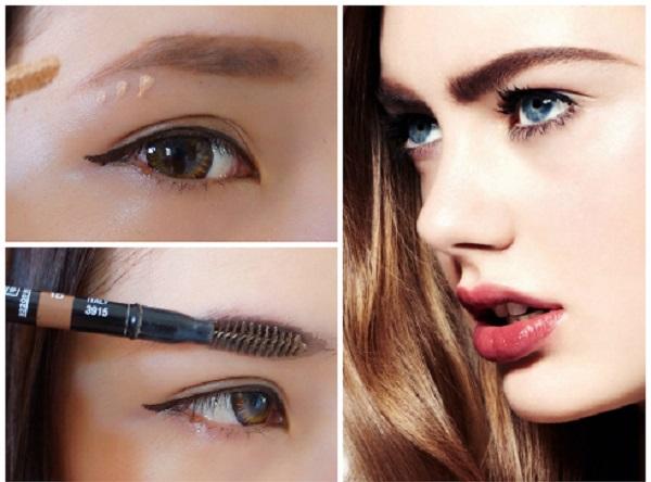 Tạo kiểu lông mày đẹp giúp nâng cao tính thẩm mỹ cho khuôn mặt