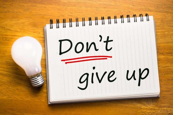 Đừng bỏ cuộc
