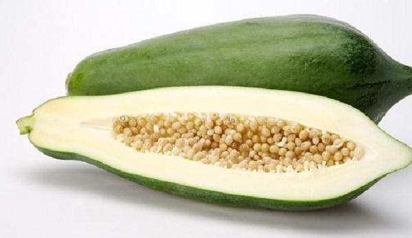 Đu đủ xanh là loại quả tuyệt đối không nên sử dụng trong 3 tháng đầu tiên của thai kỳ