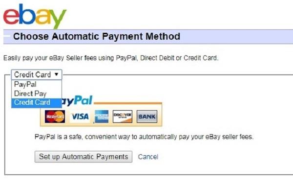 Có nhiều phương thức thanh toán khác nhau cho bạn lựa chọn trên eBay