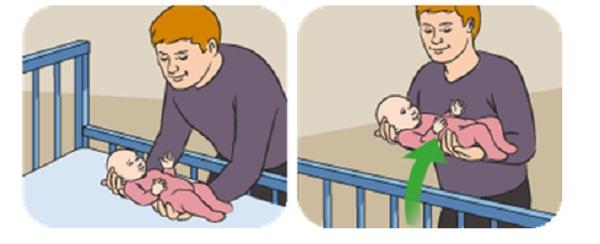 Cách bế trẻ sơ sinh rất quan trọng mẹ cần tìm hiểu trước khi em bé chào đời