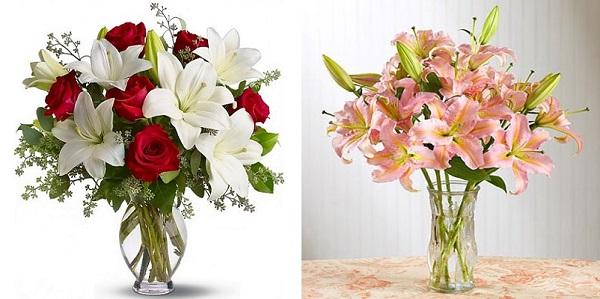 Kiểu tỏa tròn được áp dụng đối với tất cả các loại hoa