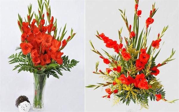 Tổng hợp hai cách cắm hoa lay ơn mang lại niềm vui và may mắn trong cuộc sống