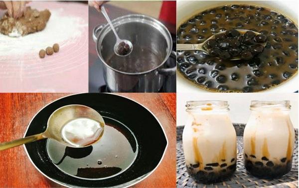 Các bước thực hiện làm thạch trà sữa cực kỳ đơn giản
