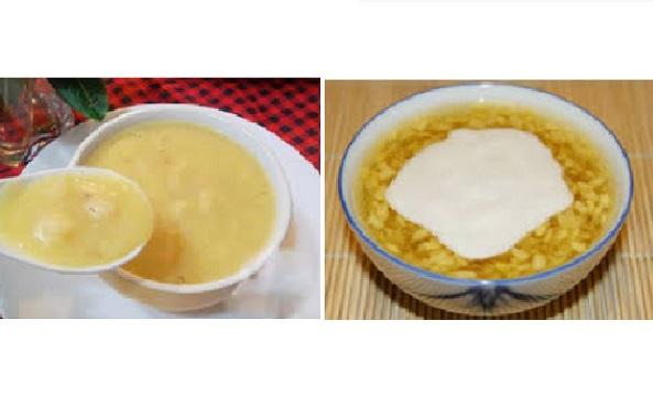 Thưởng thức chè đậu xanh nước cốt dừa theo 2 phong cách yêu thích
