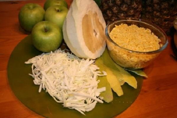 Nguyên liệu chuẩn bị làm món chè đậu xanh