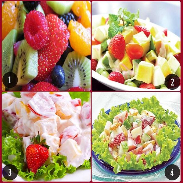 3 bước thực hiện món salad hoa quả có thể bạn chưa biết