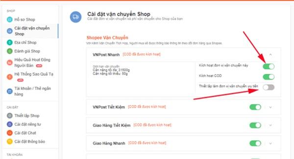 Thiết lập địa chỉ trên shopee giúp bạn không mất thời gian và phí vận chuyển