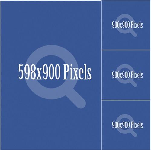 Dạng một ảnh lớn nằm đứng bên cạnh là 3 hình nhỏ