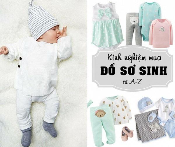 Chọn quần áo cho trẻ trước khi sinh là điều mong đợi với các ông bố và mẹ