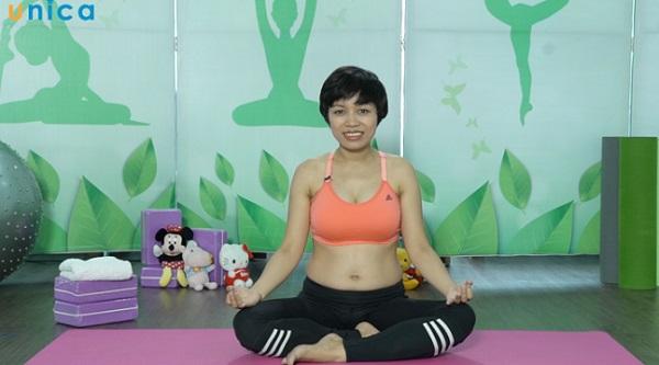 """Xem ngay: Khóa học """"Yoga bầu - Mẹ khỏe mạnh, con an nhiên"""""""