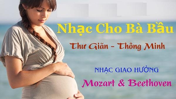 Nhạc giao hưởng là sự lựa chọn số một của các mẹ bầu