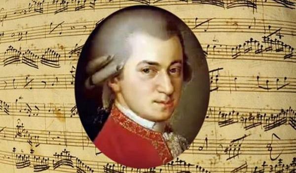 Chân dung nhà soạn nhạc thiên tài người Áo Wolfgang Amadeus Mozart