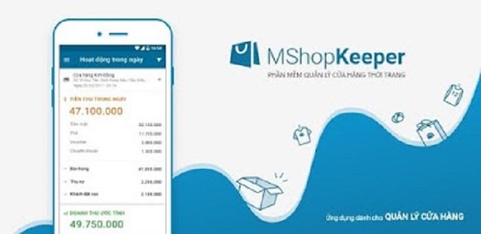 Phần mềm MShopKeeper của Misa