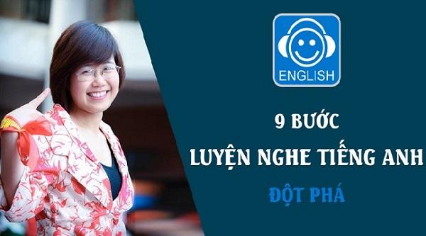 """Xem ngay: Khóa học: """"9 Bước luyện nghe Tiếng Anh đột phá"""""""