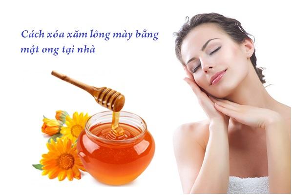 Xóa xăm lông mày bằng mật ong an toàn và có hiệu quả trong thời gian ngắn