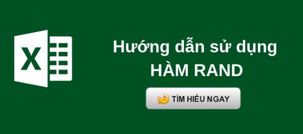 Hàm RAND và cách dùng hàm Rand trong Excel kèm ví dụ