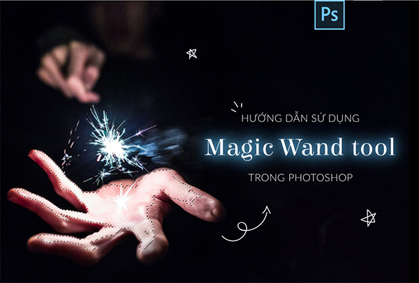 Magic wand tool trong Photoshop